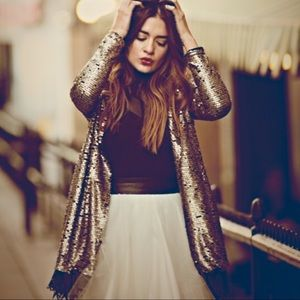 Free People | Shake Senora Tarnished Sequin Jacket